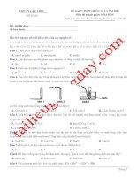 Đề thi thử THPT QG 2020   hóa học   gv lê phạm thành   đề 06   có lời giải