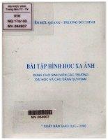 Bài tập hình học xạ ảnh (NXB giáo dục 2000)   nguyễn hữu quang, 78 trang