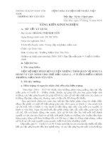 Sáng kiến kinh nghiệm: Một số biện pháp rèn luyện những thói quen vệ sinh và hành vi văn minh cho trẻ mẫu giáo 4–5 tuổi D điểm chính trường mầm non Tân Yên