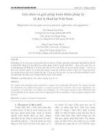 Góc nhìn và giải pháp hoàn thiện pháp lý về đại lý thuế tại Việt Nam
