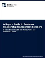Buyer's guide to customer relationship management solutions