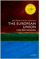 The european union a very short introduction (very short introductions), 3rd edition