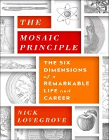 The mosaic principle the six dimentions of a remarkable life and career