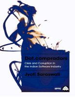 Dot compradors power and policy in the development of the indian software industry