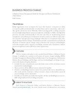 BUsiness process change 3ed