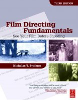 Fim directing fundamentals see your film before shooting 3rd nicholas