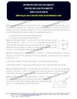 tổng ôn tập vật lý 11