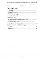 SKKN một số giải pháp nâng cao chất lượng cho trẻ 5 6 tuổi làm quen chữ cái tại trường MN ea tung