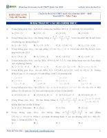 ĐỖ văn đức 30 bài TOÁN OXYZ từ các đề CHÍNH THỨC