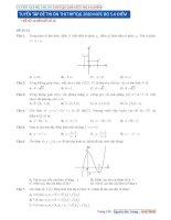 TUYỂN tập đề THI ôn THI THPTQG 2020 mức độ 5 6 điểm (đề số 16   20)