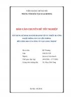 Báo cáo thực tập tốt nghiệp - Quản trị kinh doanh