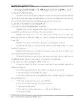 Bài giảng môn nghiệp vụ lễ tân