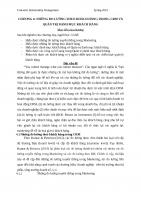 Bài giảng chương 4  CRM