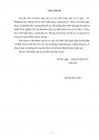 Xử lý nợ xấu tại Ngân hàng TMCP Sài Gòn – Hà Nội chi nhánh Tây Hà Nội