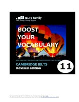 Boost your vocabulary cam11 revised 22082018
