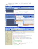 Hướng dẫn phá pass  Phá mật khẩu file word dễ dàng