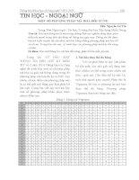 Một số phương pháp mã hoá đối xứng