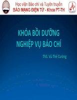 03   khoa boi duong nghiep vu bao chi
