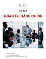 Sổ tay quản trị hành chính
