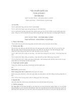 Tiêu chuẩn Quốc gia TCVN 1270:2017