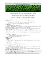 TRỌN BỘ Giáo án Đạo đức lớp 1_ Cánh Diều