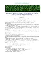Giáo án HĐTN lớp 1_Vì sự Bình đẳng và Dân chủ trong GD_Tiết 21 đến 36