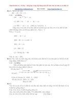 53 bài ôn tập số và CHỮ số lớp 4 có GIẢI