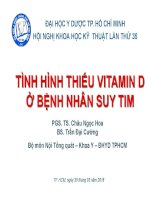 Thieu vitamin d suy tim