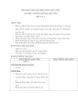 GIÁO ÁN TIẾNG VIỆT_CHÂN TRỜI SÁNG TẠO_BÀI 1 + BÀI 2 (liên hệ Zalo 0917854898 để nhận trọn bộ 35 tuần giáo án này qua email với giá 60k)