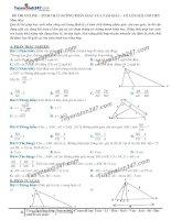 Toán lớp 8: 2  thi online   tính chất đường phân giác của tam giác