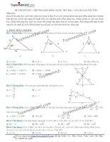 Toán lớp 8: 4  thi online   trường hợp đồng dạng thứ hai của tam giác