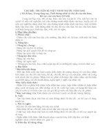 Chủ đề 01 môn Ngữ Văn lớp 8 về Truyện kí Việt Nam trước năm 1945