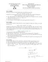 Đề thi giữa học kỳ môn Chuyên đề xử lý số tín hiệu nâng cao