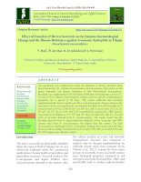 Effect of fucoidan of brown seaweeds on the immuno-haematological change and the disease resistance against Aeromonas hydrophila in Tilapia Oreochromis mossambicus