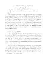 Bài 2  hội CHỨNG sốt cấp TÍNH GIẢM TIỂU cầu