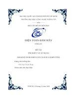 123doc   bao cao do an mon hoc dien toan dam may de tai tim hieu va su dung amazon web services cloud computing