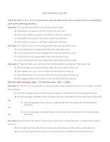 VIẾT lại câu từ đề cô TRANG ANH tập 2