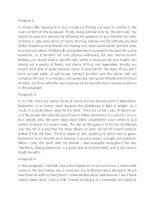 6 bài Paragraph B1: Student Book Online Workbook
