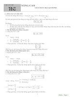 2 2  nâng cao giải toán độ lệch pha