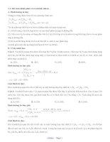 Tư duy hóa học NAP 4 0 hữu cơ 6 7 8 điểm