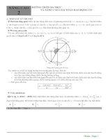 5  nâng cao 2   đường tròn đa trục