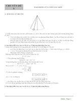 8  chuyên đề 8   dao động của con lắc đơn