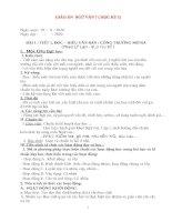 Giáo án ngữ văn 7 kì 1 soạn theo 5 hoạt động, chi tiết 2020