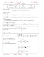 Giáo án dạy thêm toán 8, phần 2
