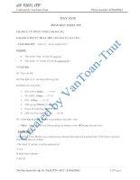 Cấu trúc đề thi phần đọc TOEFL ITP