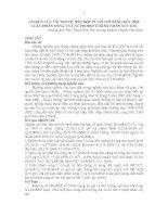 NGHIÊN CỨU VAI TRÒ DỰ BÁO ĐỘT TỬ DO TIM BẰNG KẾT HỢP LUÂN PHIÊN SÓNG T VÀ NTPROBNP Ở BỆNH NHÂN SUY TIM