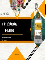 TAP HUAN ELEARNING ISPRING