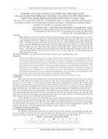Nghiên cứu ảnh hưởng của nhiệt độ, bán kính chày và lực chặn phôi đến lực tạo hình khi uốn chi tiết hình chữ U thép tấm SS400 bằng phương pháp phần tử hữu hạn