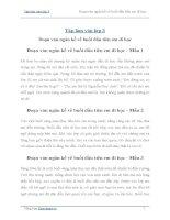 Tập làm văn lớp 3: Viết một đoạn văn ngắn kể về buổi đầu tiên em đi học (25 mẫu)
