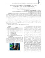 Điều khiển cân bằng giàn khoan tự nâng dựa trên giải thuật tối ưu LQR